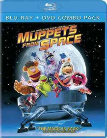 Muppets from Space - (Region A Import Blu-ray Disc)