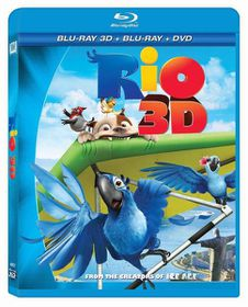 Rio (2011)(3D Blu-ray)