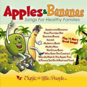 Apples & Bananas:Songs for Healthy Fa - (Import CD)