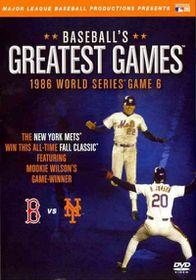 Baseball?S Greatest Games:1986 World - (Region 1 Import DVD)