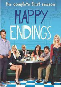 Happy Endings Season One - (Region 1 Import DVD)