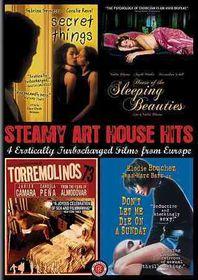 Steamy Art House Hits - (Region 1 Import DVD)