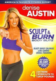 Denise Austin:Sculpt & Burn Body Blit - (Region 1 Import DVD)