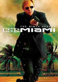 Csi:Miami Complete Ninth Season - (Region 1 Import DVD)