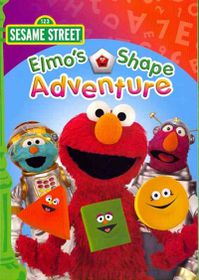 Sesame Street:Elmo's Shape Adventure - (Region 1 Import DVD)
