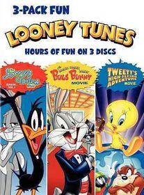 Looney Tunes 3 Pack Fun - (Region 1 Import DVD)