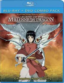 Legend of the Millennium Dragon - (Region A Import Blu-ray Disc)