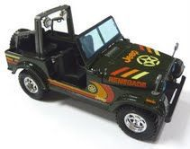 Bburago - 1/24 Jeep Wrangler - Red