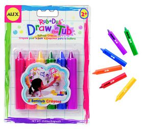 Alex Toys - Draw In The Tub Crayons - 6