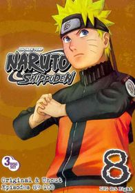 Naruto Shippuden Box Set 8 - (Region 1 Import DVD)
