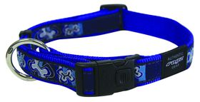 Rogz - Fancy Dress Extra-Large Armed Response Dog Collar - Navy