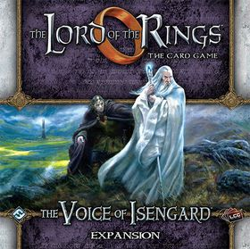 Lord Of the Rings The Card Game - The Voice Of Isengard Deluxe Expansion