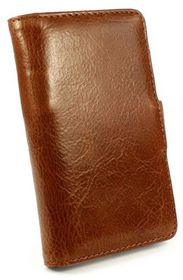 Tuff-Luv Vintage leather Stand case for Samsung Galaxy Core Prime - Brown