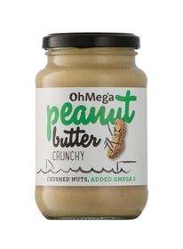 OhMega Peanut butter Crunchy - 400g