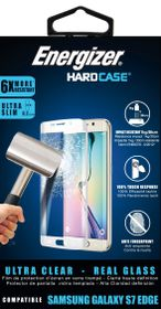 Energizer Tempered Glass for Galaxy S7 Edge - White