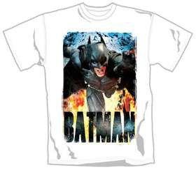 The Dark Knight Rises Running Flames T-Shirt (Small)
