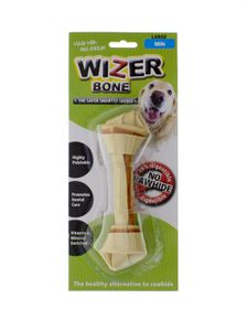 Wizer - Milk Knotted Bone Treat - Large