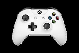 Xbox One Wireless Controller - White (Bluetooth)