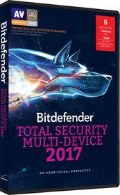 Bitdefender 2017 Total Security Multi Device (DVD Case)