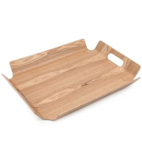 Home Essentials - Rectangular Wooden Tray - Willow