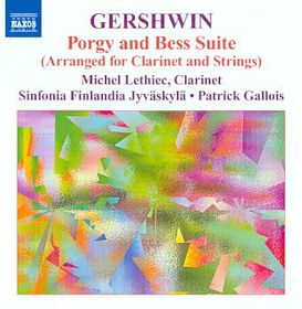 Gershwin: Music For Clarinet And Strings - Music For Clarinet & Strings (CD)