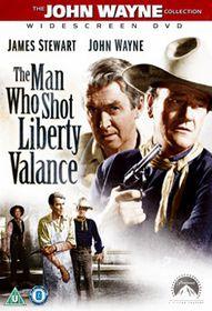 Man Who Shot Liberty Valance  (Import DVD)