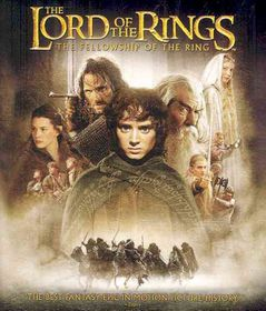 Lord of the Rings:Fellowship of the R - (Region A Import Blu-ray Disc)